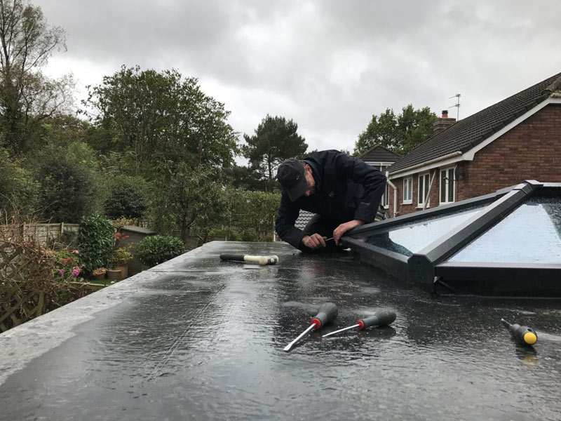 Flat Roofing Repairs Ribble Valley