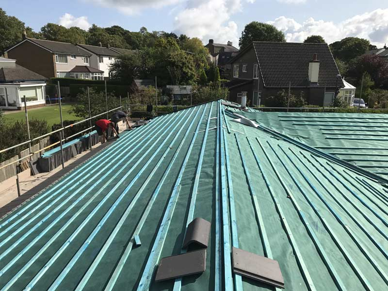 Roofing Company In Blackburn Jw Construction