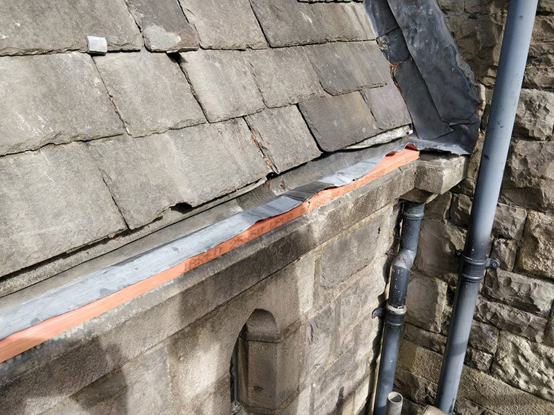 Church Roof Lead Work