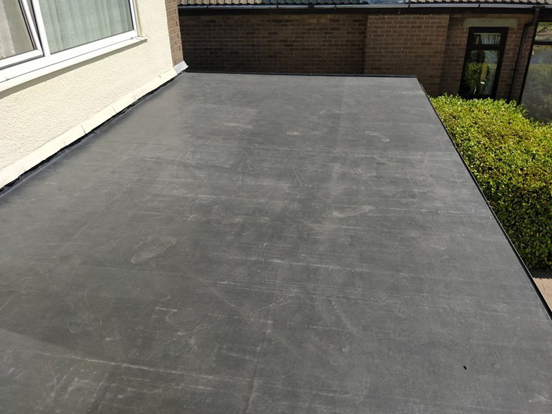 EPDM Rubber Roof Installation