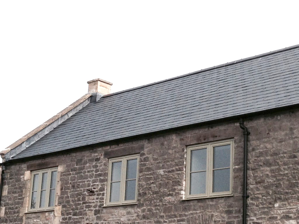 Slate Roof Project