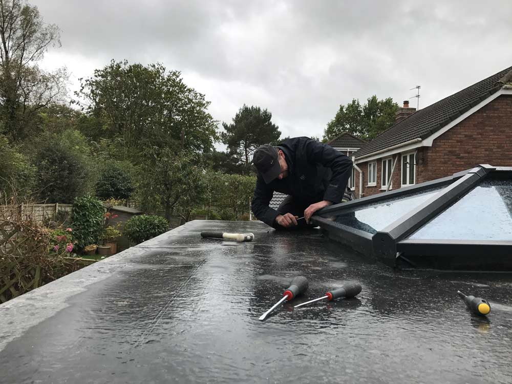 EPDM Rubber Roofing Fitters | Low Prices | Fast Service