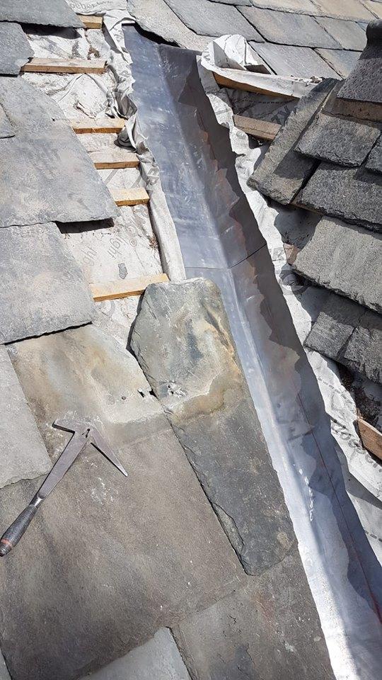 Lead Gutter Repair in Blackburn